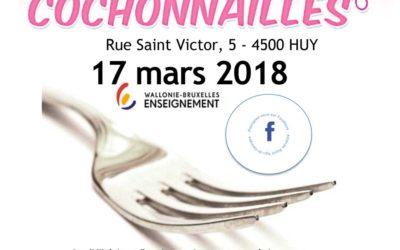Cochonnailles – 17 mars 2018