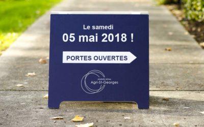 Portes ouvertes : Le samedi 05 mai 2018 !
