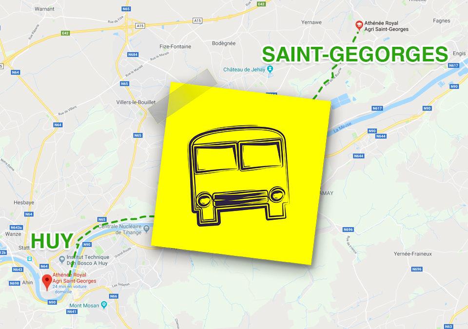 Transport scolaire entre Huy et Saint-Georges