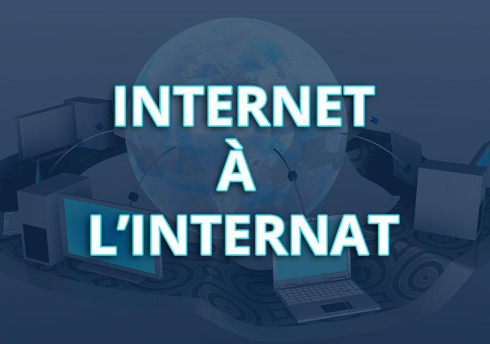 Internet à l'internat