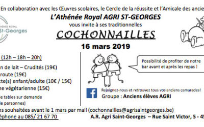 Cochonnailles le 16 mars 2019