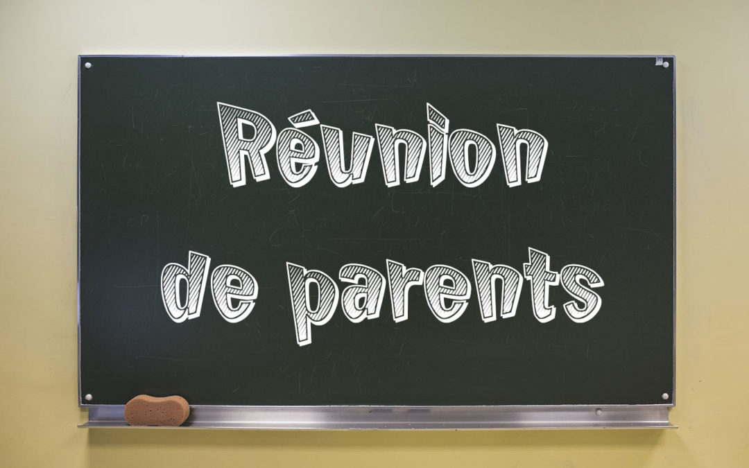 Réunion des parents