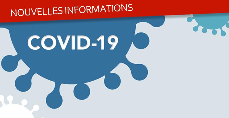 Informations liées au confinement du au covid-19