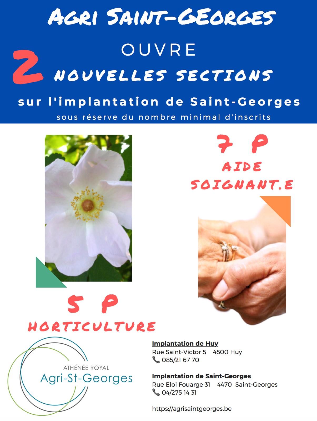 Agri Saint-Georges ouvre deux nouvelles sections